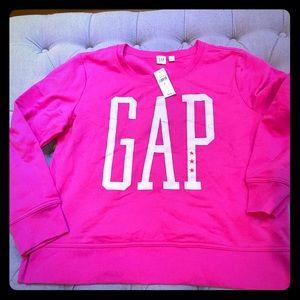 Gap Graphic Crewneck Sweatshirt